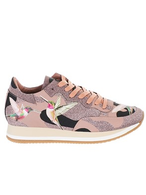 PHILIPPE MODEL - PINK ETOILE SNEAKERS