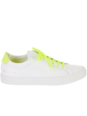 COMMON PROJECTS - WHITE RETRO SNEAKERS