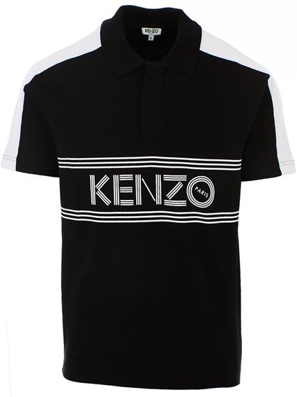ab208b0afef kenzo BLACK POLO SHIRT available on lungolivigno.com - 28720