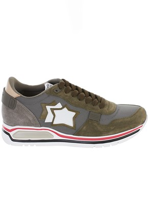 ATLANTIC STAR - SNEAKER PEGASUS VERDE MARRONE