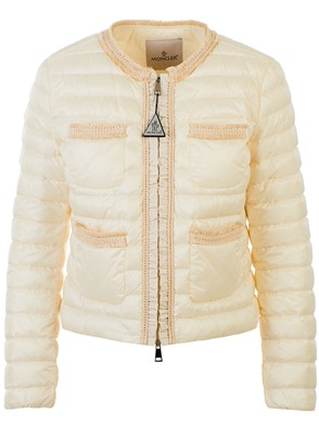 MONCLER - WHITE WELLINGTON DOWN JACKET