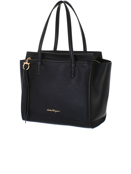 salvatore ferragamo BLACK AMY BAG available on lungolivigno.com - 28765 f92026c1ee447