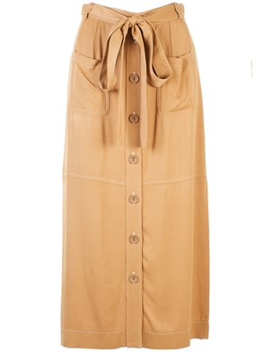 SEE BY CHLOE' - BROWN SKIRT