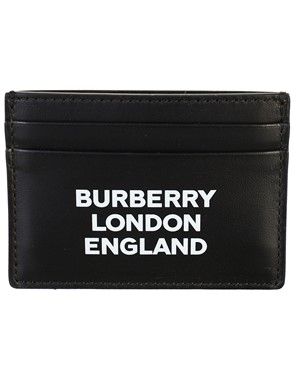 BURBERRY - BLACK CARD HOLDER