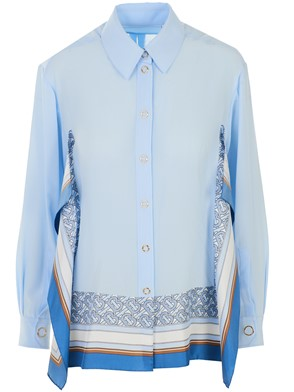 BURBERRY - BLUE PALE SHIRT