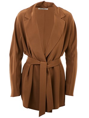 MAX MARA - BLAZER NATIVA MARRONE