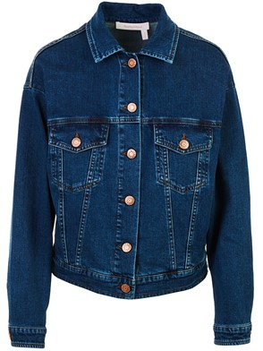 SEE BY CHLOE' - BLUE JEANS JACKET