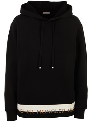 MONCLER - BLACK SWEATSHIRT