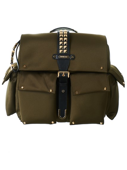 6790bd7137d548 michael michael kors GREEN OLIVIA BACKPACK available on lungolivigno ...