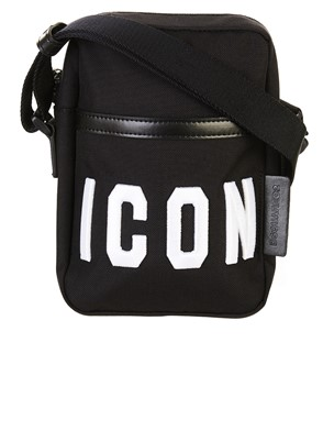 DSQUARED2 - TRACOLLA ICON NERA