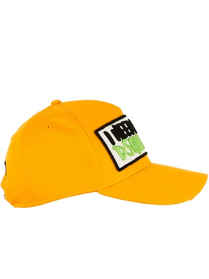 DSQUARED2 YELLOW HAT