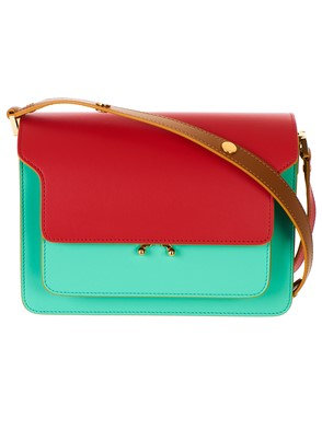 MARNI - MULTICOLOR TRUNK BAG
