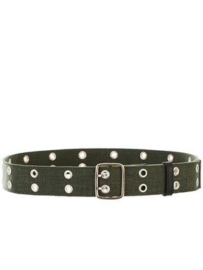 GOLDEN GOOSE DELUXE BRAND - GREEN BELT