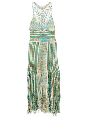 M MISSONI - MULTICOLOR DRESS