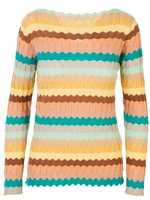 ROBERTO COLLINA - MULTICOLOR SWEATER