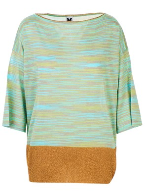 M MISSONI - MULTICOLOR BLOUSE