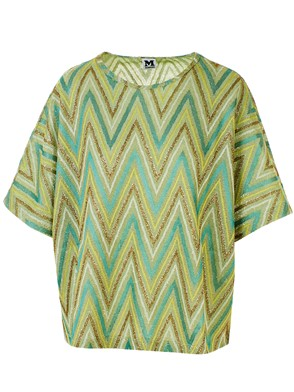 M MISSONI - GREEN BLOUSE