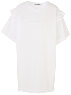 PHILOSOPHY BY LORENZO SERAFINI - WHITE DRESS