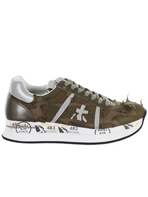 PREMIATA - GREEN CONNY SNEAKERS