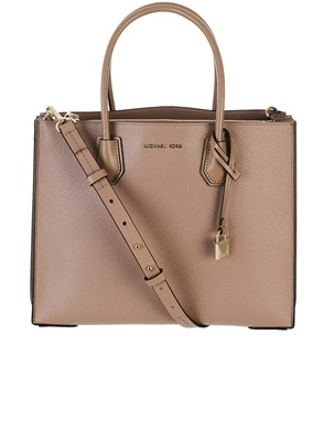 MICHAEL KORS - BEIGE MERCER BAG
