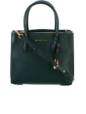 MICHAEL KORS - GREEN MERCER BAG