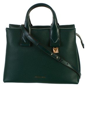 MICHAEL KORS - GREEN ROLLINS BAG