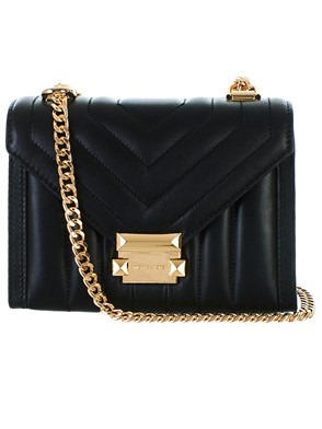 MICHAEL KORS - BLACK WHITNEY BAG