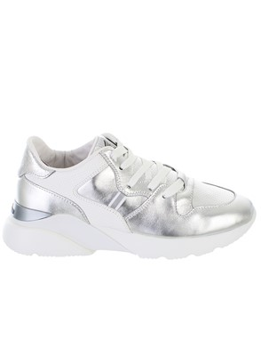 HOGAN - SILVER ACTIVE SNEAKERS