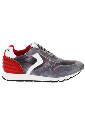 VOILE BLANCHE - GREY LIAM POWER SNEAKERS