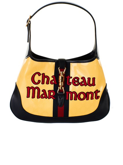 GUCCI YELLOW JACKIE CHATEAUX BAG
