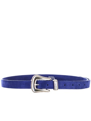 B-LOW THE BELT - BLUE WYLDER BELT