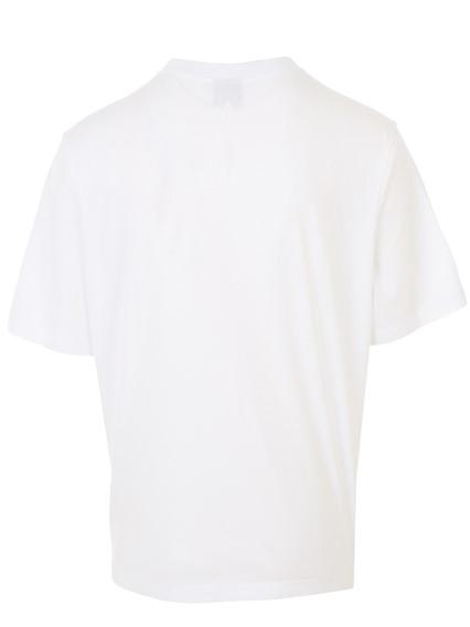 MARCELO BURLON COUNTY OF MILAN WHITE ALI BACK T-SHIRT
