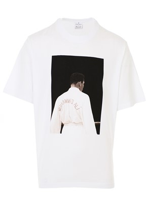 MARCELO BURLON COUNTY OF MILAN - WHITE ALI BACK T-SHIRT