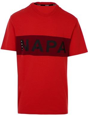 NAPA SILVER - RED T-SHIRT