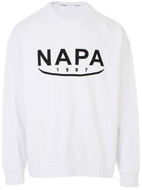 NAPA SILVER - WHITE SWEATSHIRT