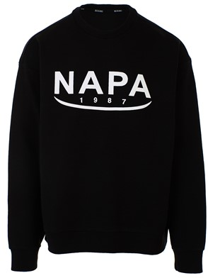 NAPA SILVER - BLACK B-AROSA SWEATSHIRT