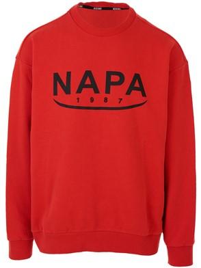 NAPA SILVER - RED B-AROSA SWEATSHIRT