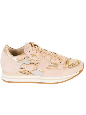 PHILIPPE MODEL - PINK TROPEZ HIGHER SNEAKERS