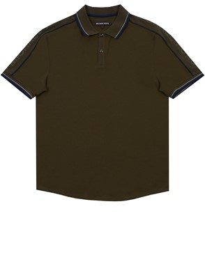MICHAEL MICHAEL KORS - GREEN POLO SHIRT