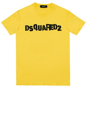 DSQUARED2 - T-SHIRT M/C CORALLO