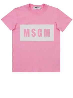 MSGM - T-SHIRT ROSA