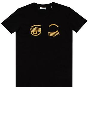 CHIARA FERRAGNI - BLACK T-SHIRT