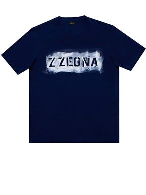 Z ZEGNA - T-SHIRT BLU