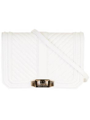 REBECCA MINKOFF - WHITE MINI BAG