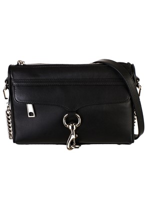 REBECCA MINKOFF - BLACK MINI BAG