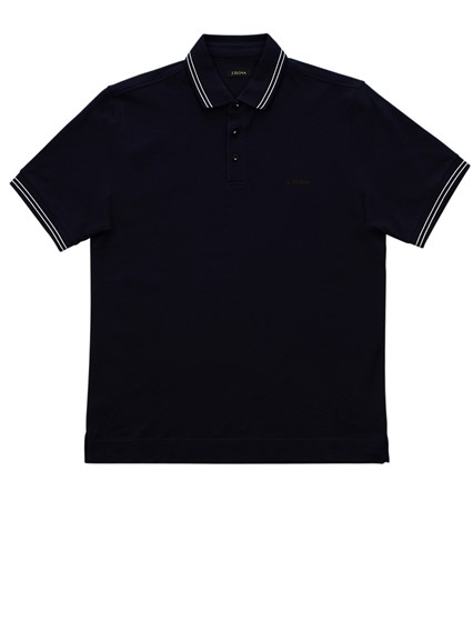 b788a1eb BLUE POLO SHIRT