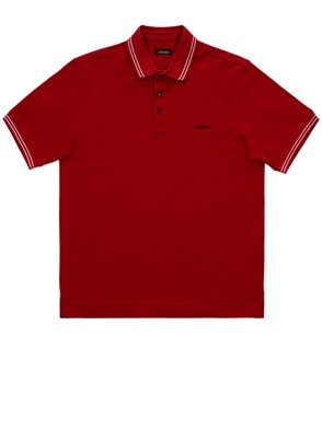 Z ZEGNA - RED POLO SHIRT