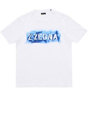 Z ZEGNA - T-SHIRT BIANCA