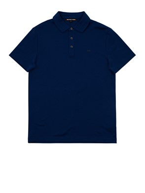 MICHAEL MICHAEL KORS - BLUE POLO SHIRT
