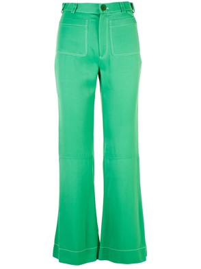SEE BY CHLOE' - GREEN FREE PANTS